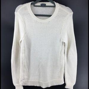 LILLA P Ivory Knit Sweater